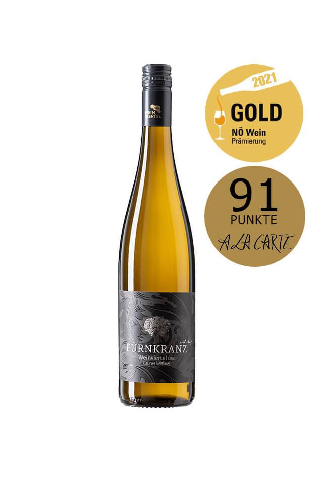 Weingut Fürnkranz DAC Grüner Veltliner NÖ Gold Prämiert und 91 A La Carte unkte