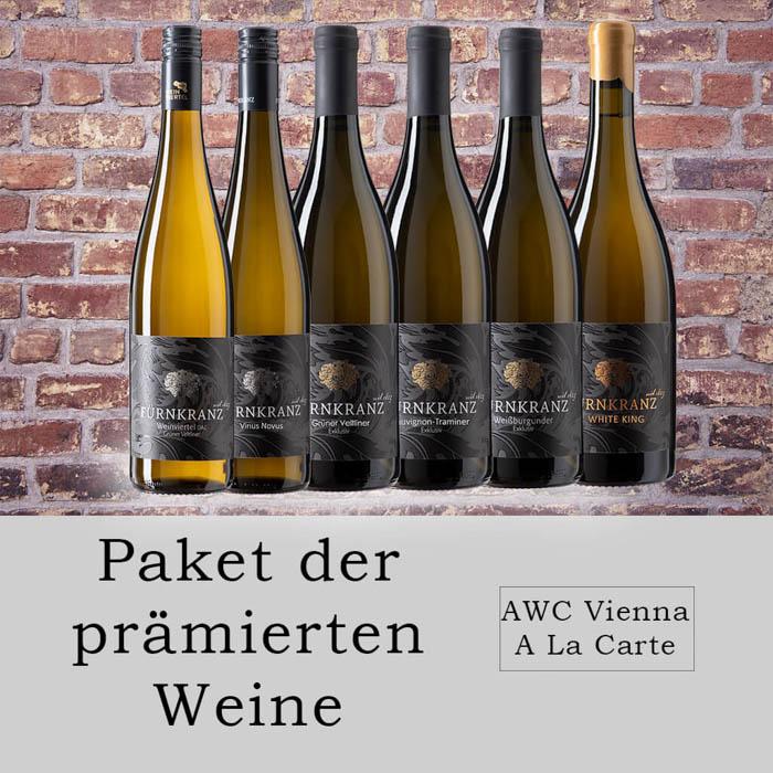 Paket der prämierten Weine vom Weingut Fürnkranz