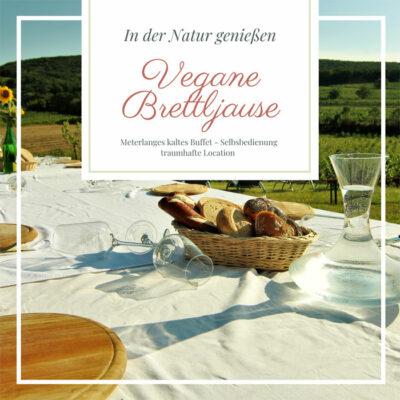Vegane Brettljause am Weingut Fürnkranz