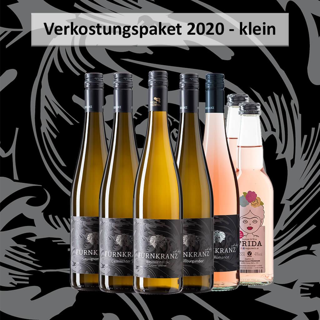 Verkostungspaker 2020 klein mit 6 verscheinden Weinen vom Weingut Fürnkranz