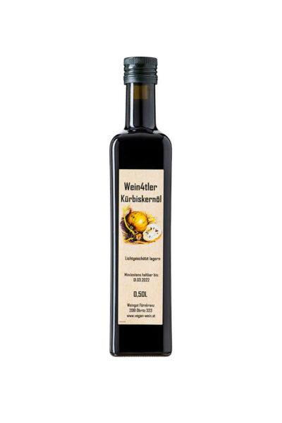 Wein4tler Kürbiskernöl vom Weingut Fürnkranz