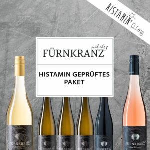 Histamin gerüftes Paket mit sechs Weinen vom Weingut Fürnkranz