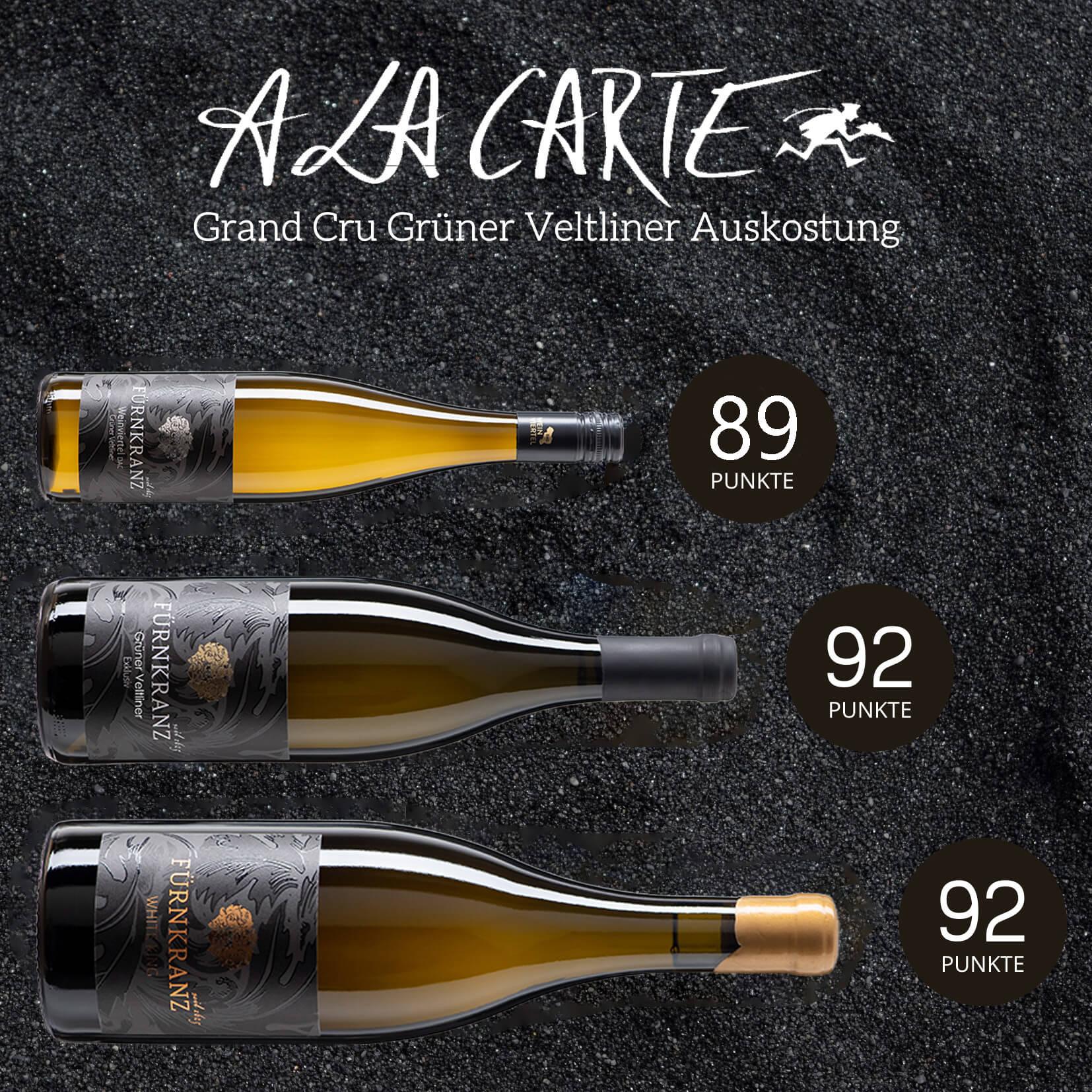 A La CArte Grüner Veltliner Probepaket vom Weingut Fürnkranz