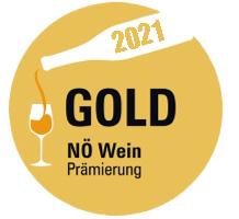 NÖ Wein Prämierung 2021 - Gold Auszeichnung