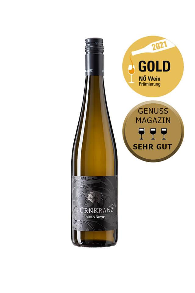 Vinus Novus 2020 vom Weingut Fürnkranz mit NÖ Wein Gold Prämierung 2021