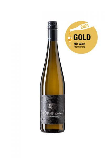 Welschriesling 2020 vom Weingut Fürnkranz mit NÖ Wein Gold Prämierung 2021