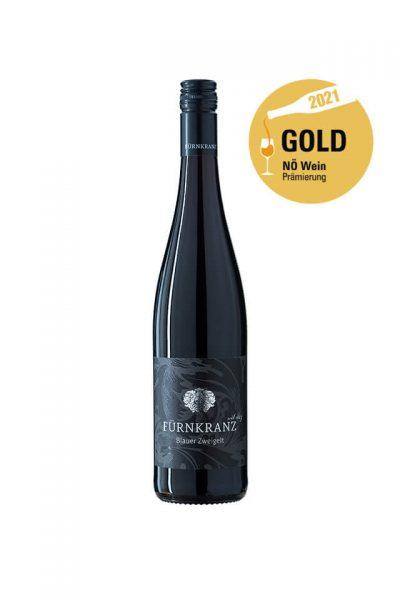 Blauer Zweigelt 2020 vom Weingut Fürnkranz mit NÖ Wein Gold Prämierung 2021