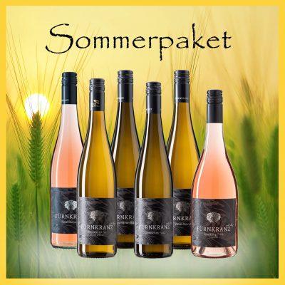 Sommerpaket Weingut Fürnkranz mit 6 somerlichen Weinen für Ihre Grillfeier