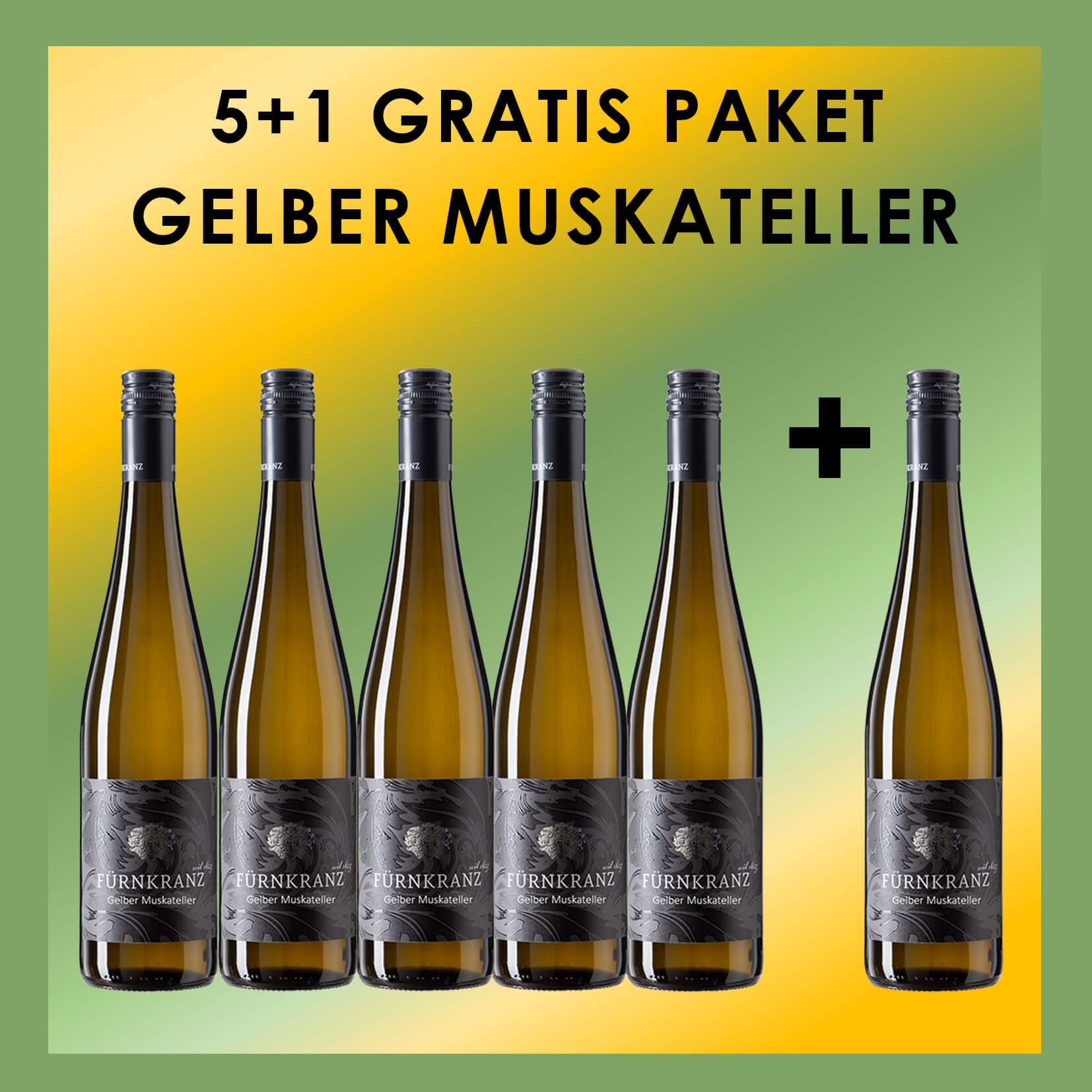 Gelber Muskateller 5+1 Gratis Paket vom Weingut Fürnkranz