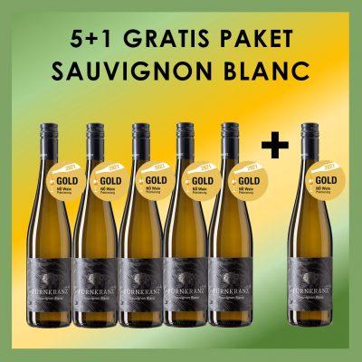 Sauvignon Blanc 5+1 Gratis Paket vom Weingut Fürnkranz