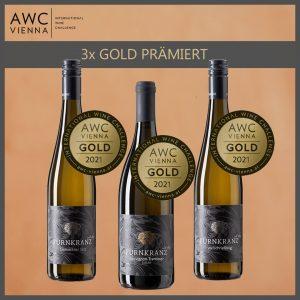 AWC 2021 Auszeichnung für das Weingut Fürnkranz