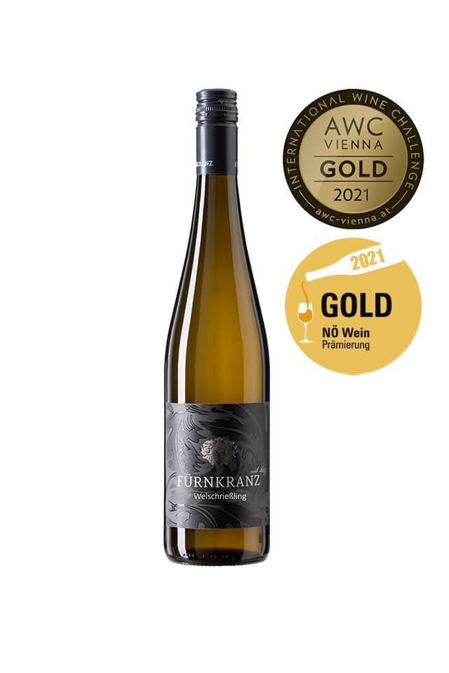 Welschriesling vom Weingut Fürnkranz AWC Gold ausgezeichnet